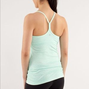 LULULEMON Y tank with built in bra